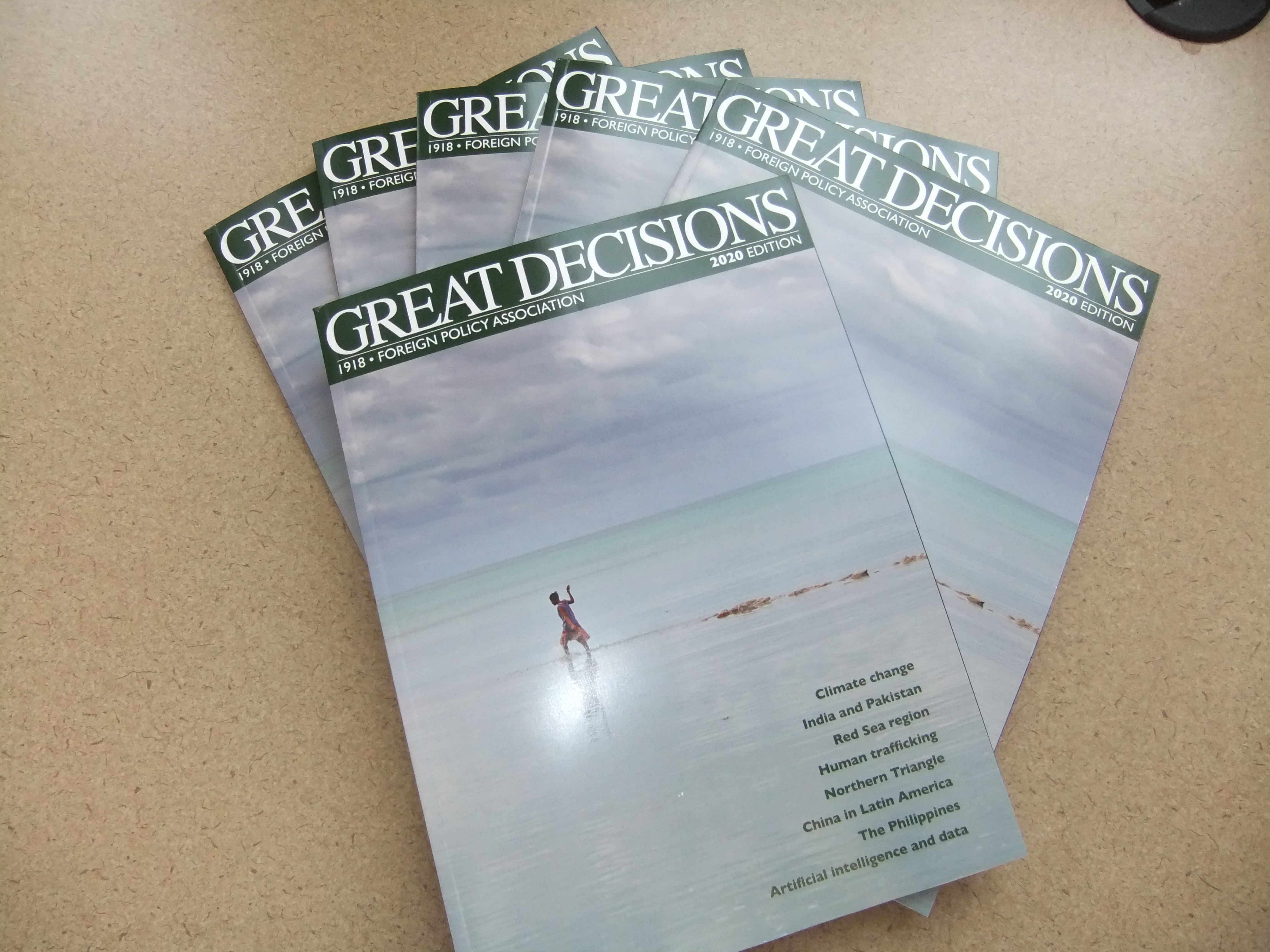 Great Decisions book