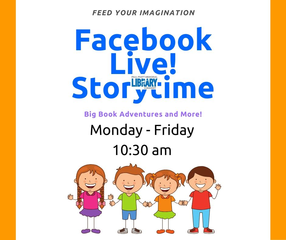 facebook live story time words with children